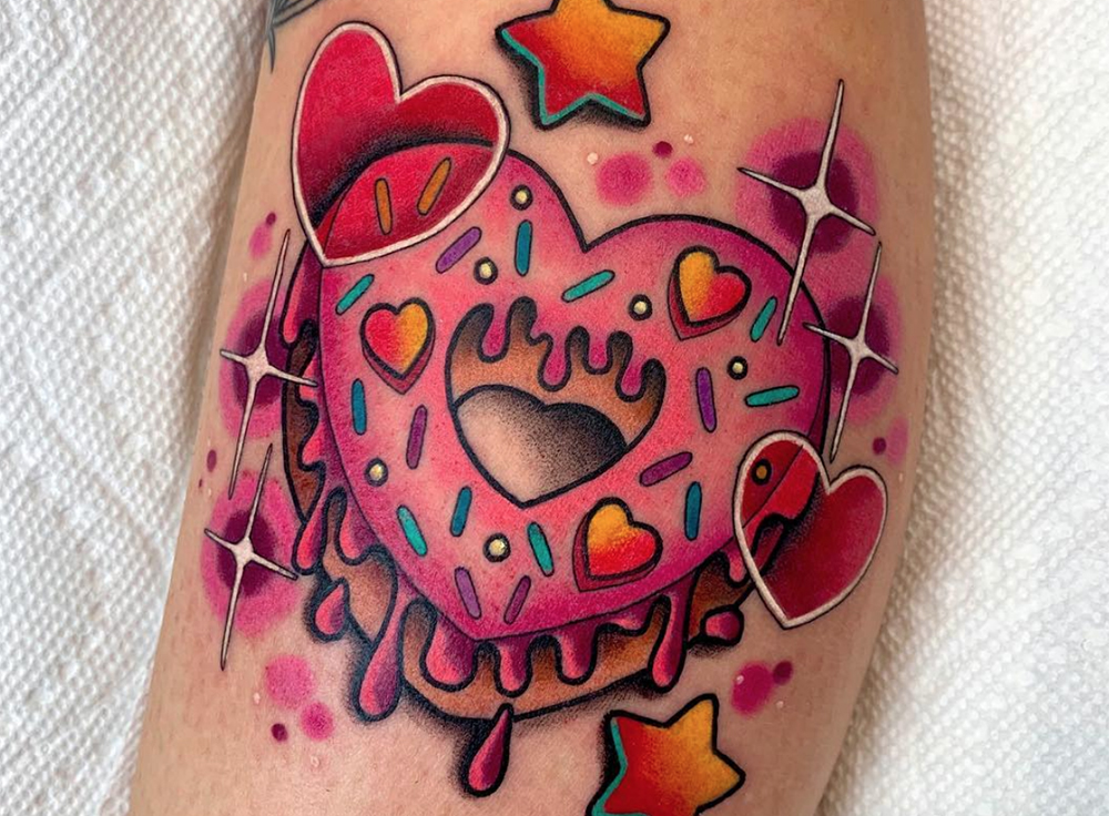 Joice Wang tattoo